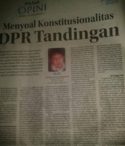DPR Tandingan
